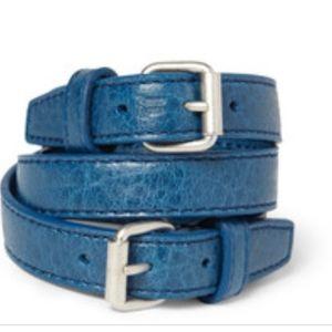 Balenciaga leather bracelet new in a box